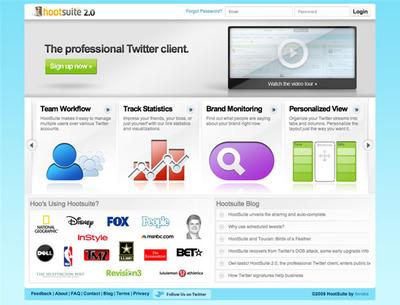 図6 プロフェッショナル向けTwitterクライアントのHootSuite