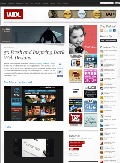 図5 暗い色のWebデザイン50選