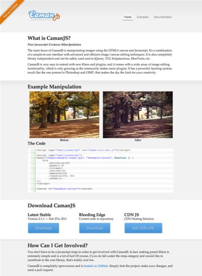 図3 canvasとJavaScriptによる画像処理