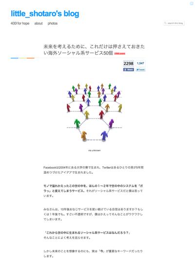 図5 海外ソーシャル系サービス50個