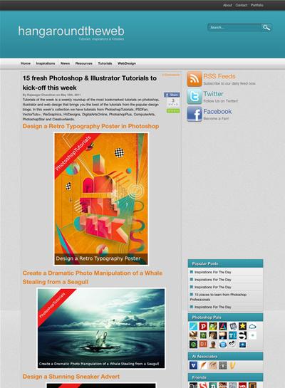 図4 フレッシュなPhotoshopとIllustratorのチュートリアル記事