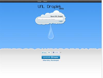 図6 Dropboxにファイルを保存するためのサービス