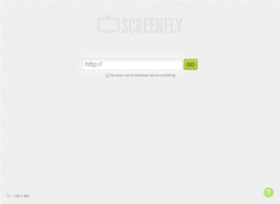 図6 様々な画面サイズでサイトの見た目をチェックできるサービス