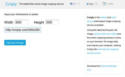 図6 画像を切り抜くためのWebサービス