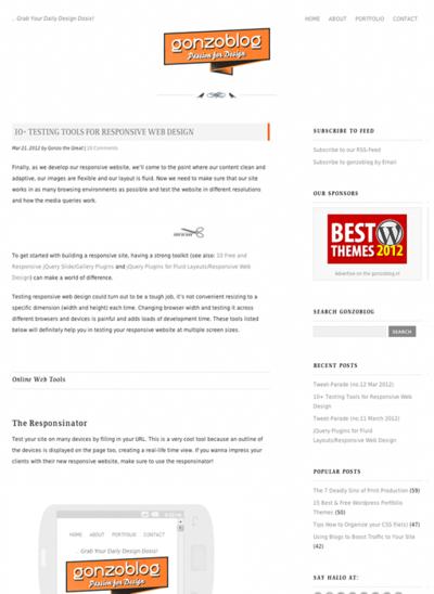 図6 レスポンシブWebデザインの表示チェックツールいろいろ