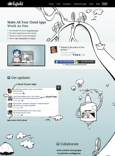 図6 クラウドアプリをベースにしたコラボレーションツール