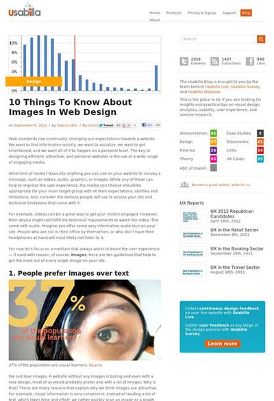 図1 Webデザインに画像を使う際に知っておくべき10個のこと