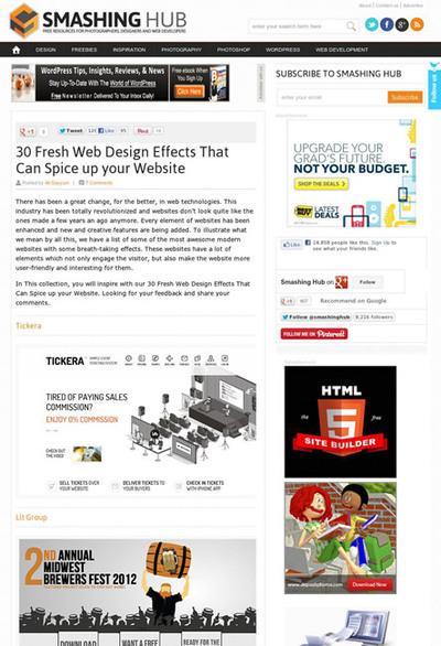 図5 動きのあるWebデザインのギャラリー