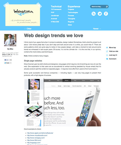 図1 Webデザインのトレンド