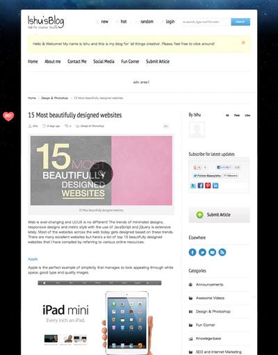 図4 すばらしいデザインのWebサイト15選