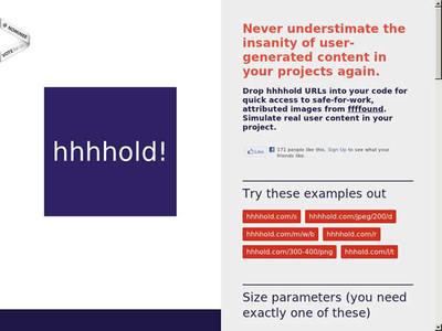 図6 ダミー画像を生成するWebサービス