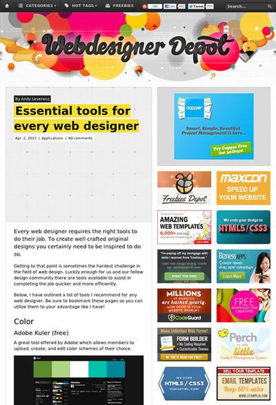 図4 Webデザイナー必須のツールいろいろ