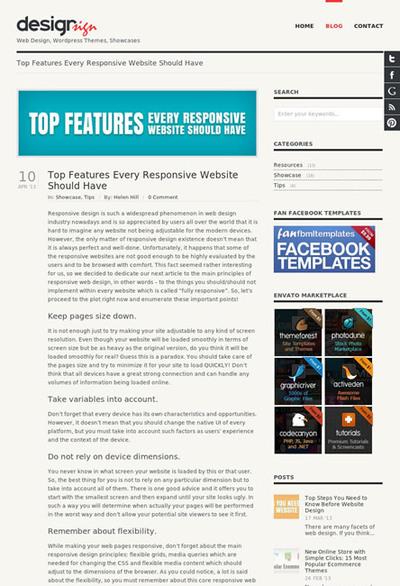 図1 レスポンシブWebデザインで気をつけるべきこと