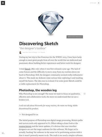 図3 Webデザインツール「Sketch」を詳しく解説