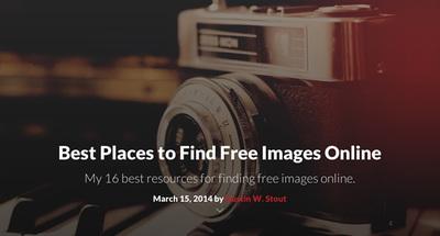 図5 フリーの写真素材を探せるサイトいろいろ