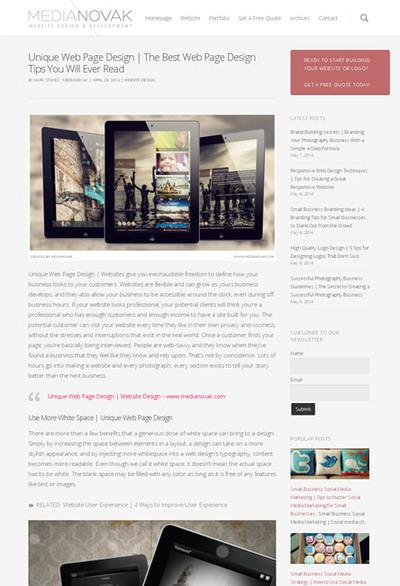 図2 独自性のあるWebページデザインに必要なこと