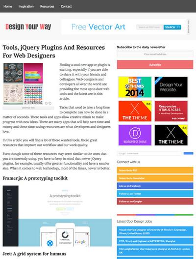 図5 Webデザインに役立つjQueryプラグインやライブラリ/ツールの最新まとめ