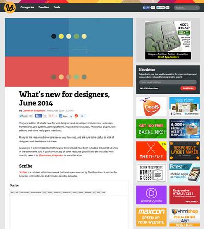 図2 Webデザインのためのツールや素材いろいろ