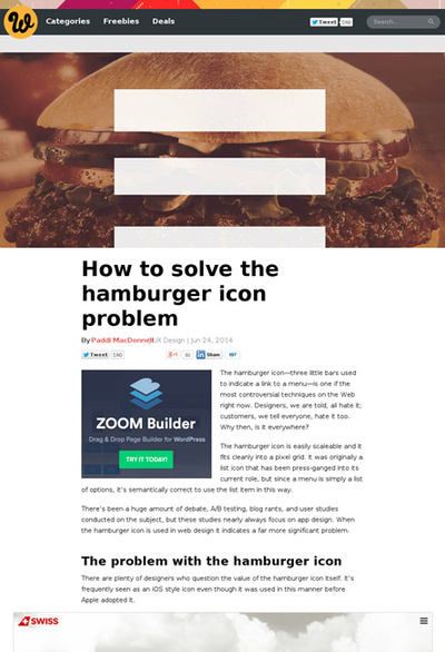 図1 ハンバーガーアイコンの問題と解決策