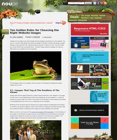 図2 Webサイトにおける正しい画像の選び方