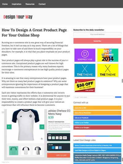 図1 ECサイトの検索機能の現状についてオンラインショップの商品ページをデザインするためのヒント