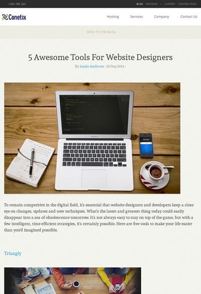 図5 Webデザイナーのための優れたツールを紹介