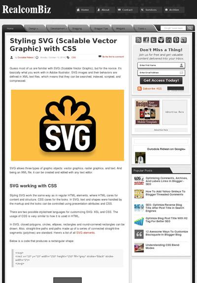 図1 SVG画像をCSSでデザインする方法