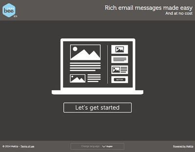 図6 レスポンシブなHTMLメールを作成するエディタ