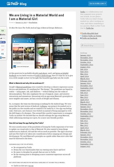 図2 マテリアルデザインのアプリを作るノウハウを紹介