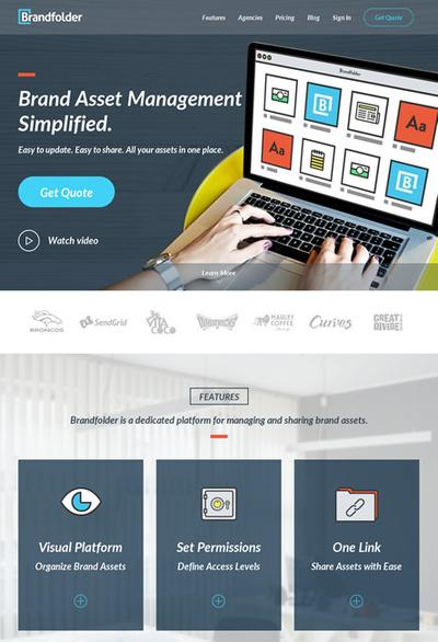 図6 企業/ブランドのロゴや写真などを配布するためのWebサービス