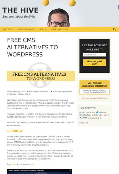 図5 WordPress以外のCMSいろいろ