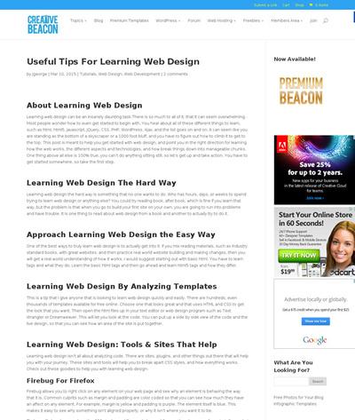 図2 Webデザインを学ぶためのツールとサイト