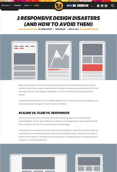 図1 レスポンシブデザインの3つの失敗とそれを防ぐ方法