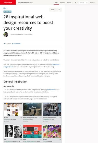 図4 Webデザインの参考になるサイトいろいろ