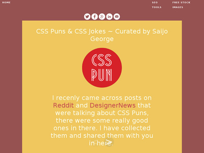 図5 CSSのシャレやジョーク