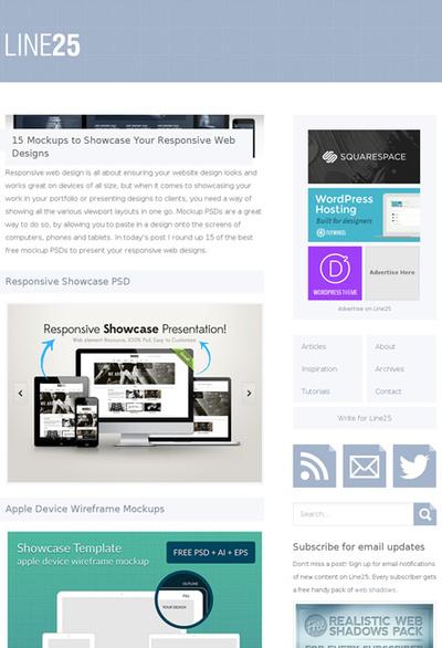 図5 レスポンシブWebデザインのためのモックアップ素材集
