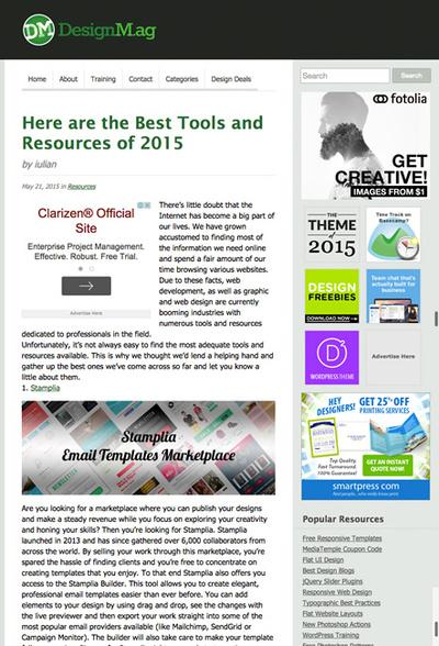 図4 Webデザインや制作に役立つツールや素材