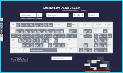 図6 Adobeのアプリケーションのショートカットを確認できるサービス