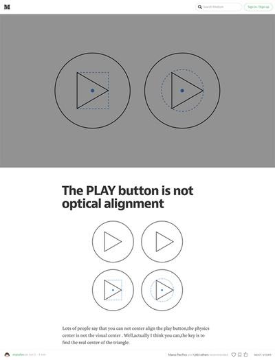 図3 丸い図形内に要素の入ったボタンの位置揃えについて