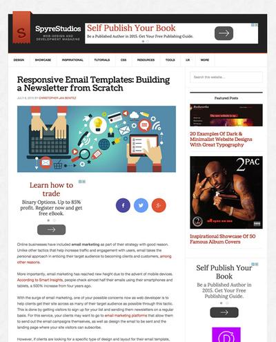 図4 レスポンシブなHTMLメールのテンプレートを作るヒント