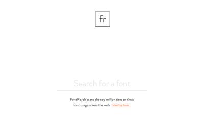 図6 Webサイトで使われているフォントが分かるサービス