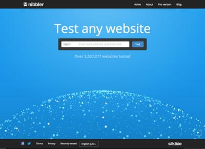 図6 Webサイトを解析してレポートするNibbler