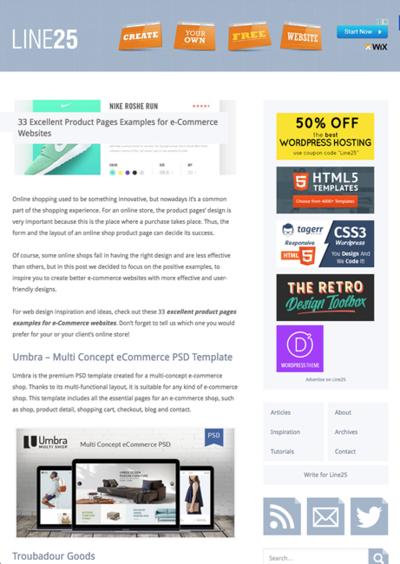 図4 ECサイトの商品紹介ページの優れたデザイン集