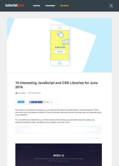 図3 JavaScriptとCSSのライブラリいろいろ