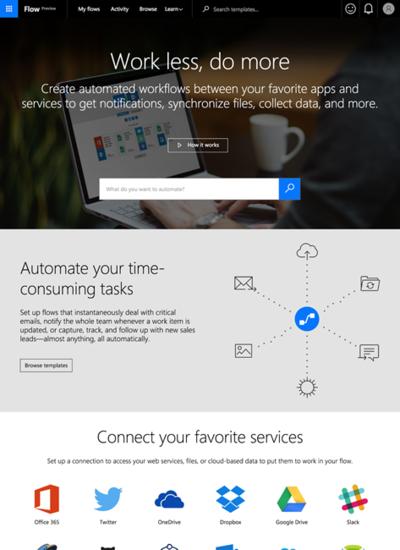 図6 マイクロソフトが提供する自動化ツール