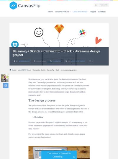 図4 Webデザインの各段階でのおすすめのツールを紹介