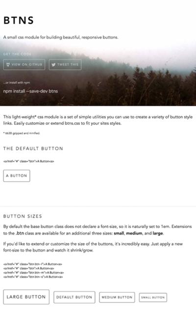 図4 ボタンデザインに特化した軽量なCSSフレームワーク