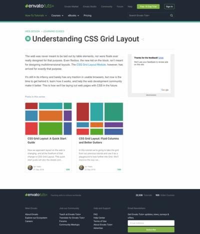 図2 CSS Grid Layout Moduleを使ったグリッドレイアウトを解説