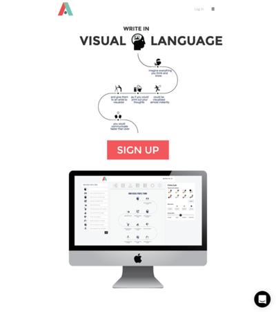 図6 簡単にインフォグラフィックスを作成できるサービス