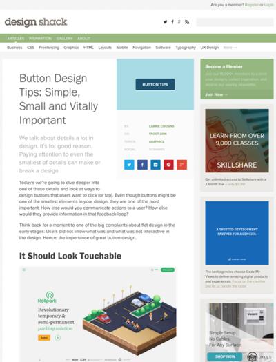 図2 ボタンデザインのヒント